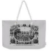 The Result Of The Fifteenth Amendment Weekender Tote Bag by War Is Hell Store