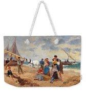 The Return Of Fishermen Weekender Tote Bag