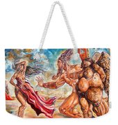 The Return Of The Original Consciousness And The Temptation Of The Fallen Weekender Tote Bag
