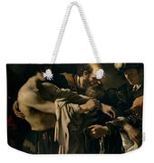 The Return Of The Prodigal Son Weekender Tote Bag by Giovanni Francesco Barbieri