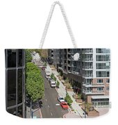 The Rey Apartment Building Weekender Tote Bag