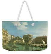 The Rialto Bridge Weekender Tote Bag