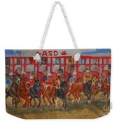 The Ringing Red Gates Weekender Tote Bag