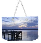 The River At Dusk Weekender Tote Bag