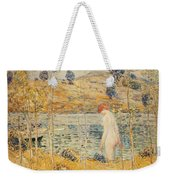 The River Bank Weekender Tote Bag