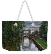 The River Foss Meets The River Ouse Weekender Tote Bag