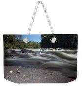 The River - Furnace Falls - Burnt River Weekender Tote Bag