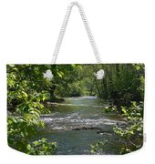 The River In Spring Weekender Tote Bag