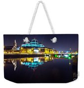 The River Liffey Night Romance 2 Weekender Tote Bag