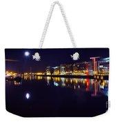 The River Liffey Night Romance V2 Weekender Tote Bag