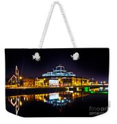 The River Liffey Reflections 2 Weekender Tote Bag