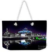The River Liffey Reflections 2 V2 Weekender Tote Bag
