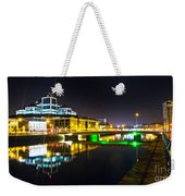 The River Liffey Reflections 3 Weekender Tote Bag