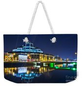 The River Liffey Reflections 4 Weekender Tote Bag