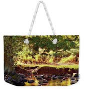 The River Lin , Bradgate Park Weekender Tote Bag
