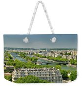 The River Of Paris Weekender Tote Bag
