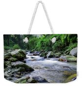The River Sings Weekender Tote Bag