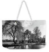 The River Wey,guildford, Surrey,england  Weekender Tote Bag
