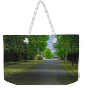 The Road On A Border Of Royal Park Weekender Tote Bag