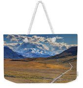 The Road To Denali Weekender Tote Bag