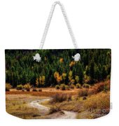The Road To Fall Weekender Tote Bag
