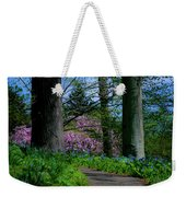 The Road To Peace And Quiet Weekender Tote Bag