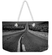 The Road To Shoshone Weekender Tote Bag