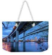 The Robert E Lee Bridge Weekender Tote Bag