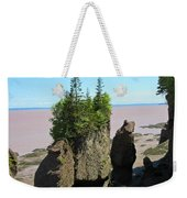 The Rocks At Hopewell Cape Weekender Tote Bag