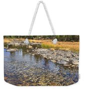 The Rocks Of Rock Creek Weekender Tote Bag