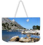 The Rocks Of Treasure Lake Weekender Tote Bag