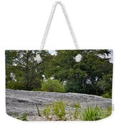The Rocky Limestone Climb Weekender Tote Bag