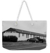 The Rolling Stones' Memory Motel Montauk New York Weekender Tote Bag