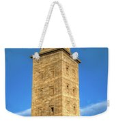 The Roman Lighthouse Known As Tower Of Hercules Weekender Tote Bag