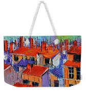 The Rooftops Weekender Tote Bag