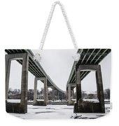 The Roosevelt Expressway Bridges Weekender Tote Bag