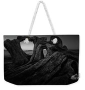 The Roots Of The Sleeping Giant Bw Weekender Tote Bag