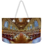 The Rose Main Reading Room Nypl Weekender Tote Bag