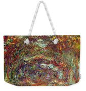 The Rose Path Giverny Weekender Tote Bag by Claude Monet