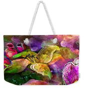 The Roses In The Sheep Dream Weekender Tote Bag