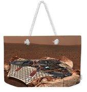 The Rovers Landing Site, The Columbia Weekender Tote Bag