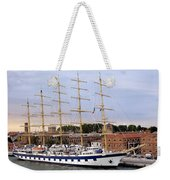 The Royal Clipper Docked In Venice Italy Weekender Tote Bag