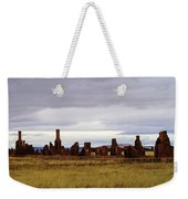 The Ruins Of Fort Union Weekender Tote Bag