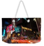 The Running Of The Taxis Weekender Tote Bag