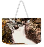 The Rush Of Water And The Cool Wet Wind Weekender Tote Bag