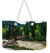 The Rushing Animas River - Colorado Weekender Tote Bag