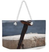 The Rusted Spike Weekender Tote Bag