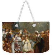The Sacrament Of Confirmation Weekender Tote Bag