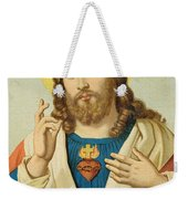 The Sacred Heart Weekender Tote Bag