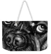 The Sad Boxer Weekender Tote Bag